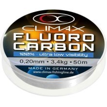 CLIMAX - GERMANY - Climax - fluorocarbon soft & strong - 50 m Průměr 0,28 mm / 5,8 kg
