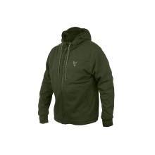 FOX - Mikina collection sherpa hoody green / silver vel. XXL