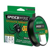 SPIDERWIRE - Šňůra Stealth SMOOTH12 zelená 150 m 0,05 mm 5,4 kg
