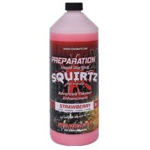 STARBAITS - Booster prep X squirtz strawberry 1 l