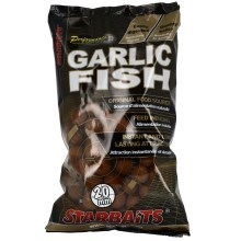 STARBAITS - Garlic fish - boilie potápivé 1 kg 20 mm