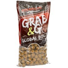 STARBAITS - Global boilies banana cream 20 mm 2,5 kg