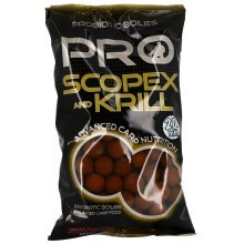 STARBAITS - Probiotic scopex & krill - boilie potápivé 1 kg 20 mm