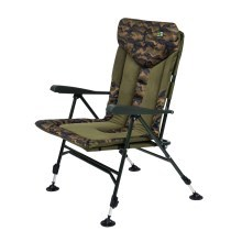 STARFISHING - Křeslo repus recliner XL camo